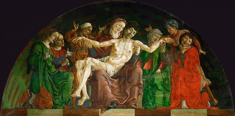 Тура, Козимо (Феррара ок1430-1495) -- Оплакивание Христа. часть 2 Лувр