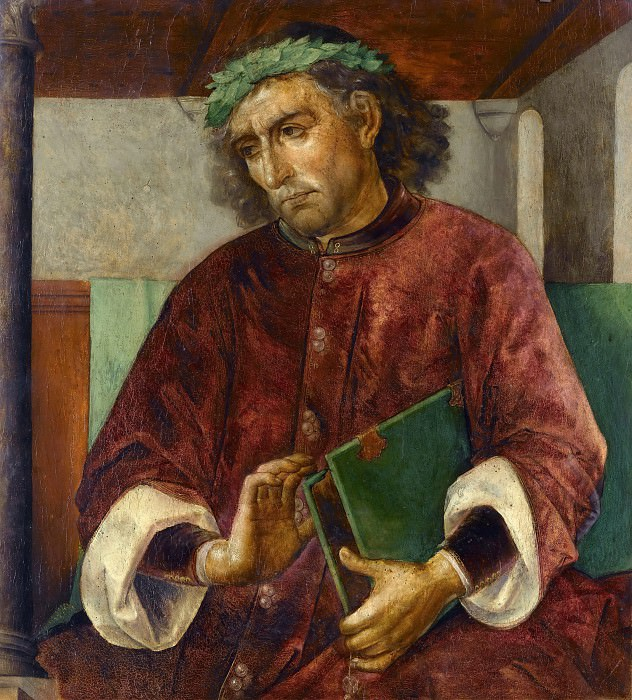 Joos van Wassenhove and Pedro Berruguete -- Virgil. Part 2 Louvre