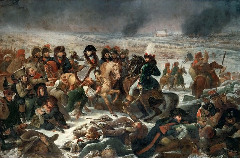 Antoine-Jean Gros (1771-1835) -- Napoleon on the Battlefield at Eylau, February 9, 1807. Part 2 Louvre