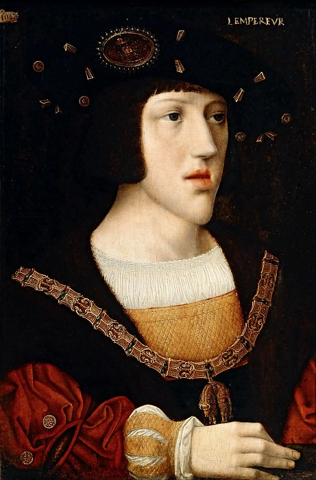 After Bernaert van Orley -- Charles of Burgundy, King of Spain, the future Charles V. Part 2 Louvre