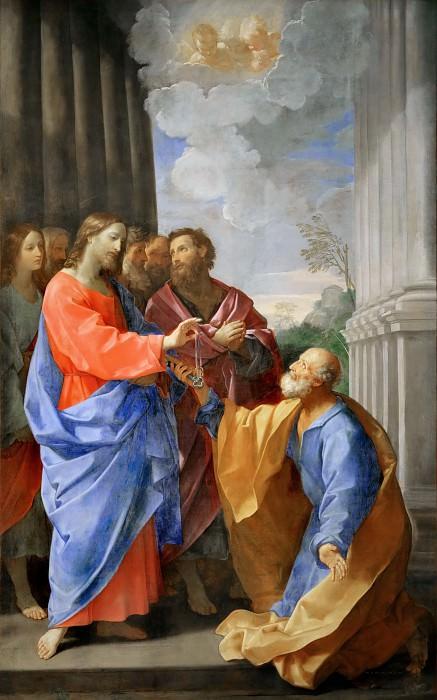 Guido Reni (1575-1642) -- Christ Entrusting the Keys to Saint Peter. Part 2 Louvre