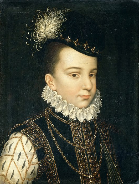 Клуэ, Франсуа (ок1510 Тур - 1572 Париж), мастерская -- Франсуа-Эркюль Французский, герцог Алансонский, позднее Анжуйский. часть 2 Лувр