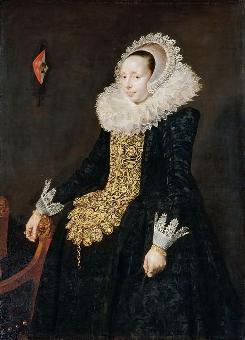 School of Frans Hals -- Catharina Both van der Eem, third Wife of Paulus van Beresteyn. Part 2 Louvre