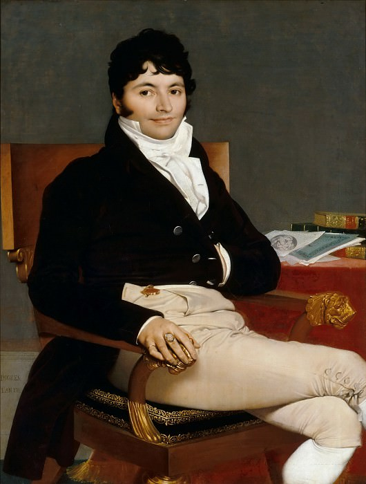 Philibert Riviere. Jean Auguste Dominique Ingres