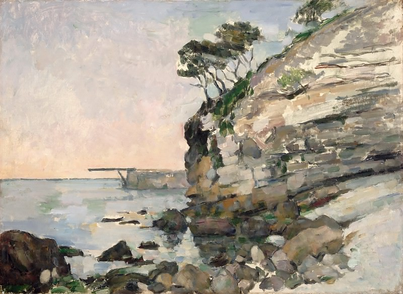 Paul Cézanne -- L'Estaque, Evening Effect. Part 2 Louvre