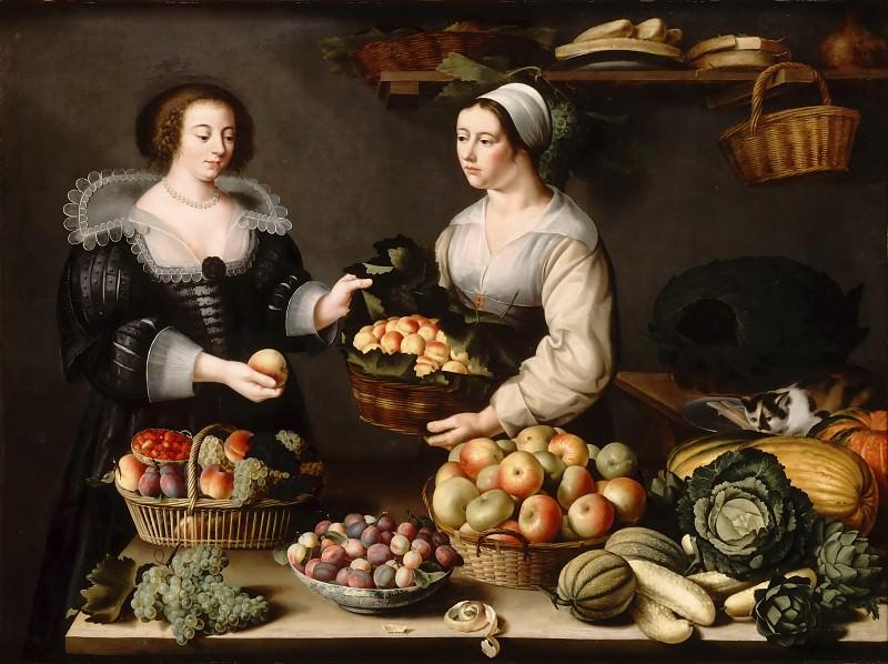 Муайон, Луиза (Париж 1610 - 1696) -- Продавщица фруктов и овощей. часть 2 Лувр