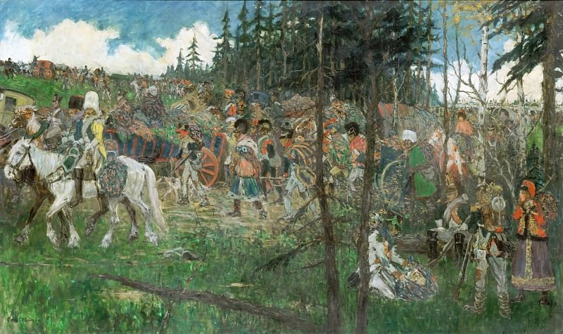 Cecil C. P. Lawson -- Retreat from Moscow in 1812. Part 2 Louvre