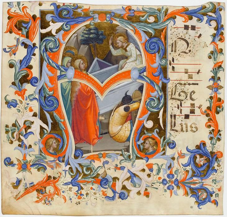 Лоренцо Монако (1365-70 Сиена - ок1425 Флоренция) -- Литера А. часть 2 Лувр