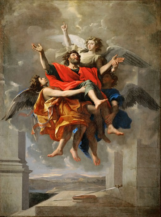 Apotheosis of Saint Paul. Nicolas Poussin