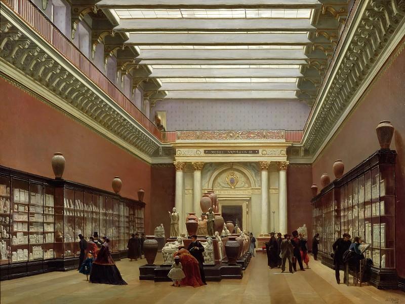Жиро, Себастьен-Шарль (1819 Париж - 1892 Саннуа) -- Галерея Кампаны в Лувре. Part 2 Louvre