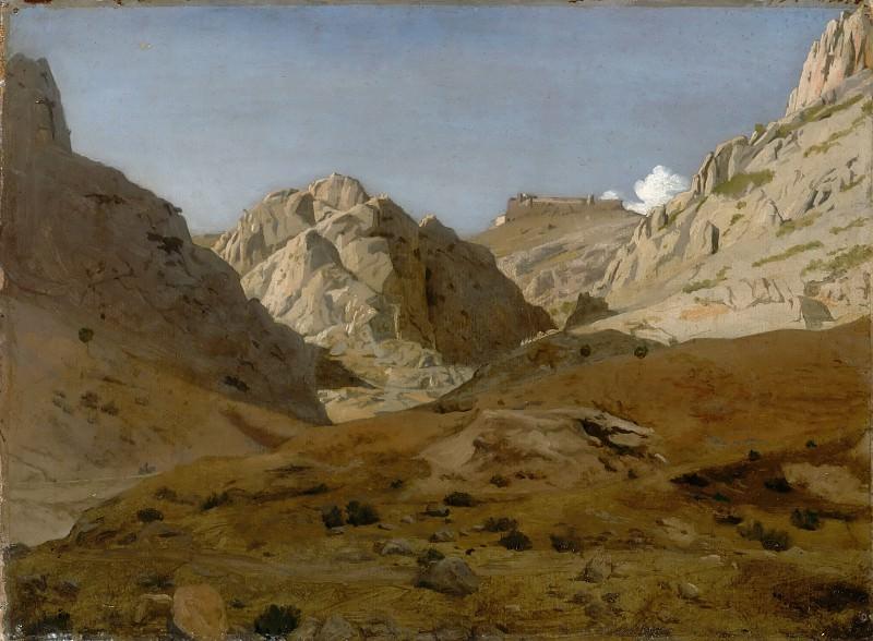 Jean-Paul Flandrin -- Les Gorges d'Ollioules. Part 2 Louvre