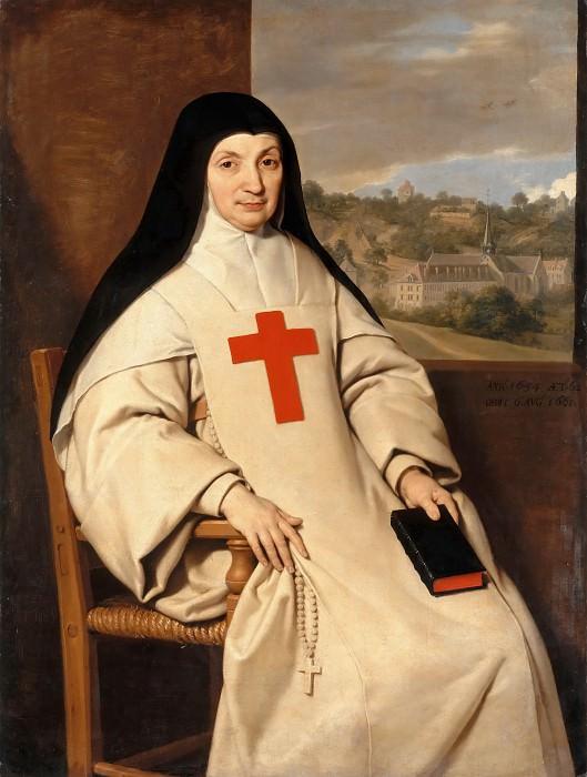 Шампень, Филипп де (1602 Брюссель - 1674 Париж) -- Матушка Арно, настоятельница монастыря Пор-Рояль. часть 2 Лувр