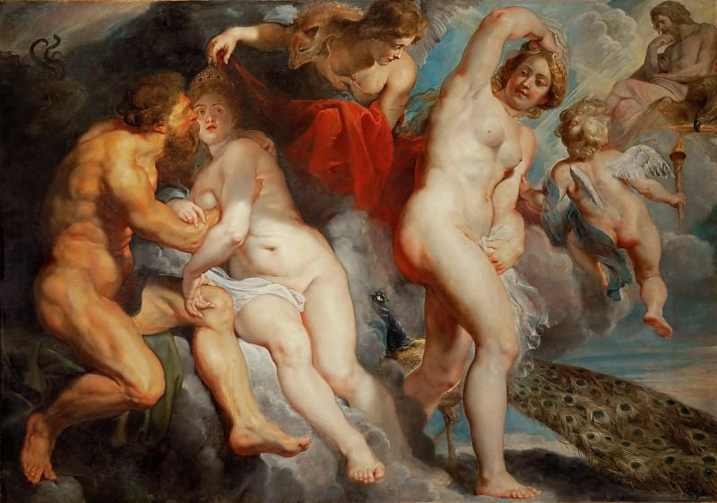 Peter Paul Rubens -- Ixion Deceived by Juno. Part 2 Louvre