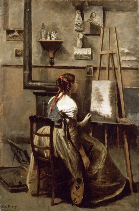 Jean-Baptiste-Camille Corot -- Corot's studio. Part 2 Louvre