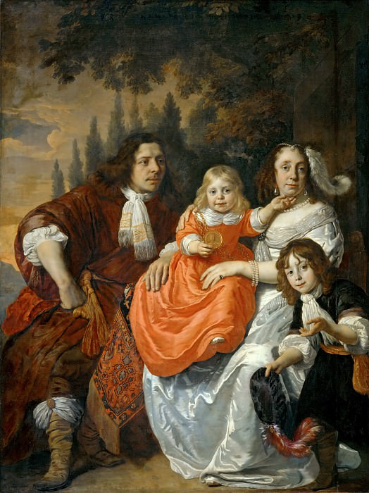 Bartholomeus van der Helst (1613-1670) -- The Reepmaker Family. Part 2 Louvre