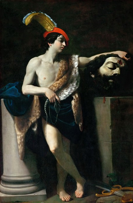 Guido Reni (1575-1642) -- David with the Head of Goliath. Part 2 Louvre