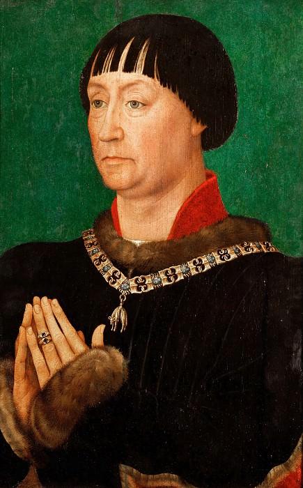 Rogier van der Weyden -- Jean I, Duke of Cleves. Part 2 Louvre