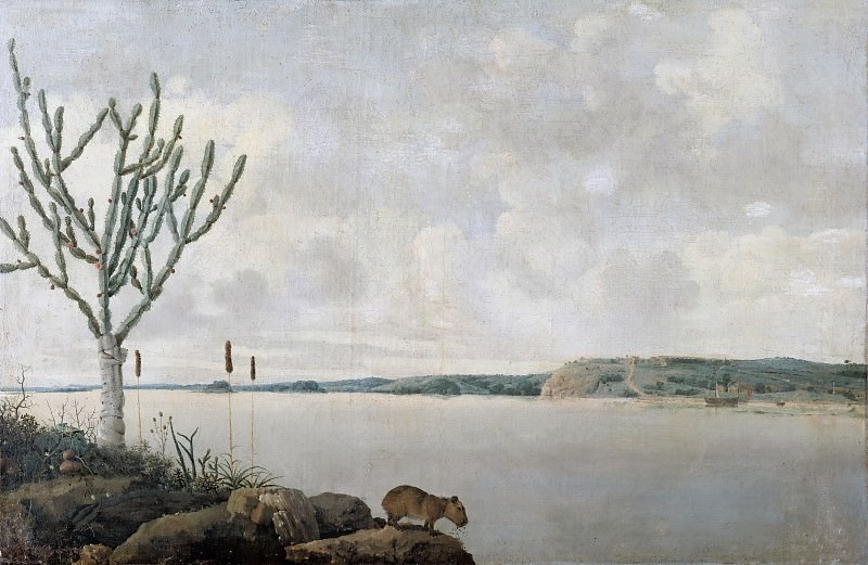 Frans Post -- The Rio San Francisco and Fort Maurice. Part 2 Louvre