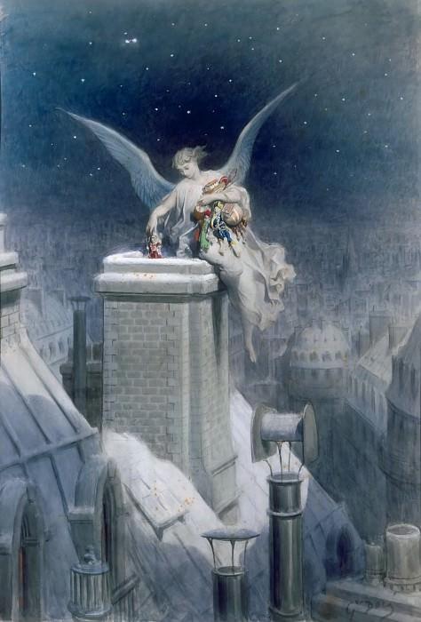 Gustave Doré -- Christmas Eve. Part 2 Louvre