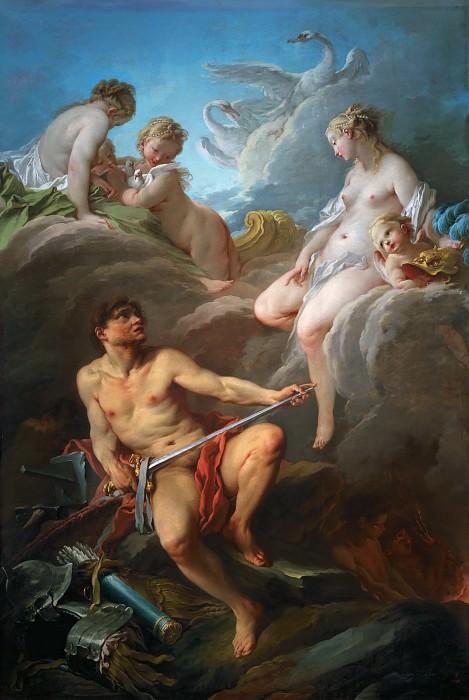 Буше, Франсуа -- Венера и Вулкан. часть 2 Лувр