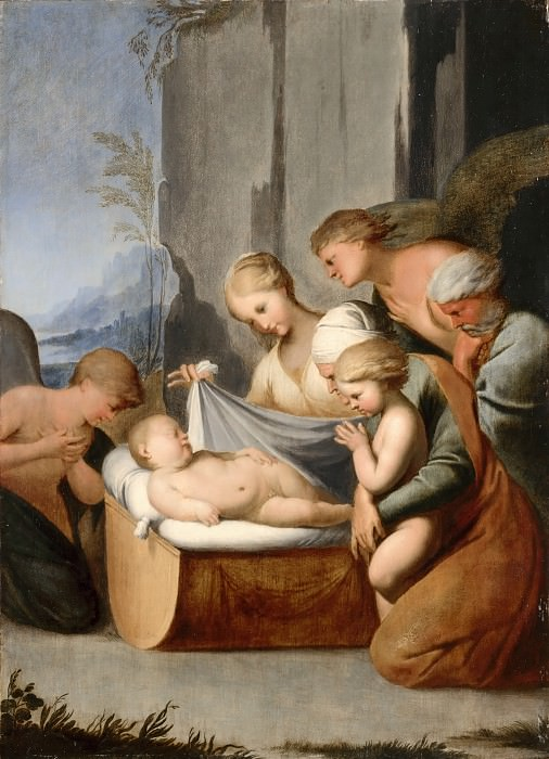 Lubin Baugin -- The Sleep of the Christ Child. Part 2 Louvre