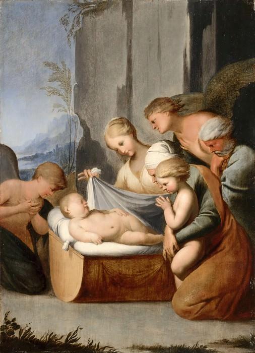 Божен, Любен (ок1610 Питивьер - 1663 Париж) -- Сон Младенца Христа. часть 2 Лувр