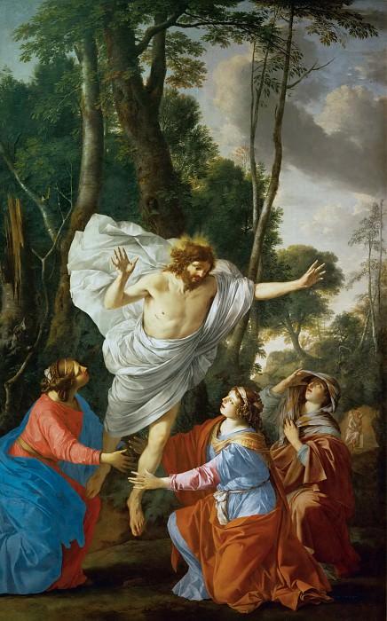 Ла Ир, Лоран де (Париж 1606-1656) -- Явление Христа Святым Женам. часть 2 Лувр