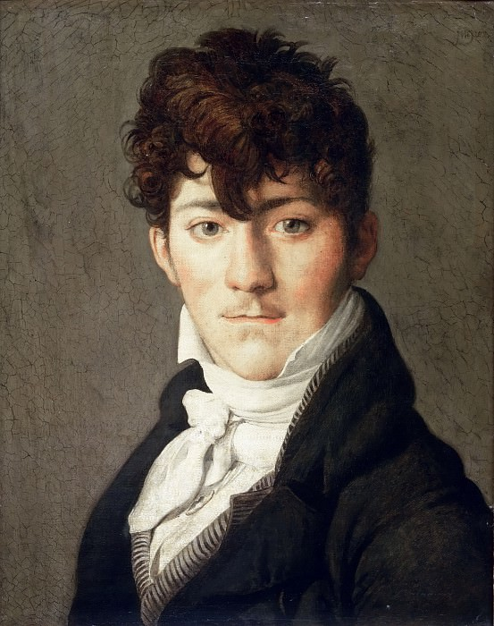 Portrait of a Young Man. Jean Auguste Dominique Ingres