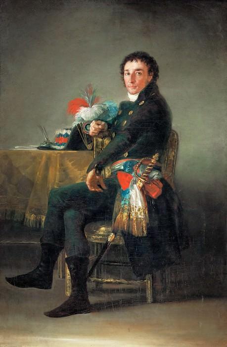 Goya y Lucientes, Francisco Jose de -- Ferdinand Guillemardet (1765-1809), Ambassadeur de France en Espagne (1798-1800) Canvas, 186 x 124 cm MI 697. Part 2 Louvre
