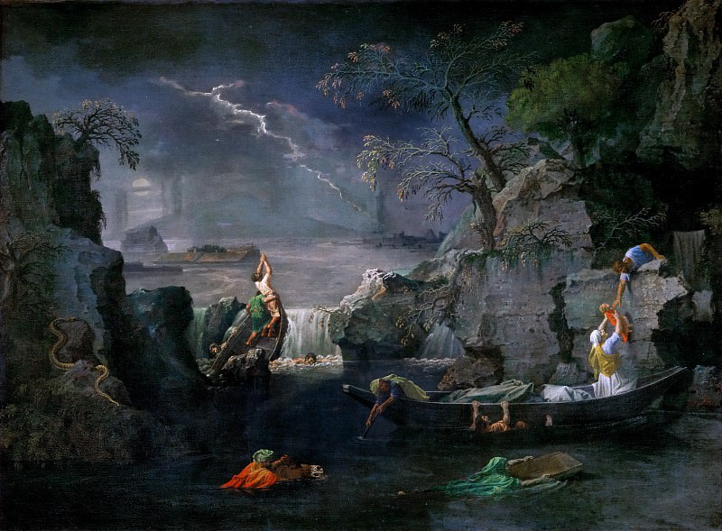 Winter (Flood). Nicolas Poussin