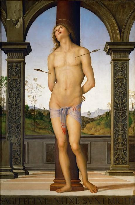 Perugino (c. 1450-1523) -- Saint Sebastian. Part 2 Louvre