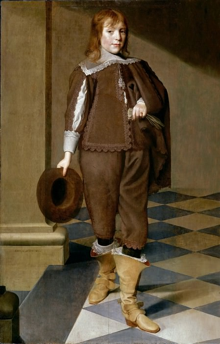 Wybrand Simonsz. De Geest, the Elder -- Portrait of a 12-Year-Old Boy. Part 2 Louvre