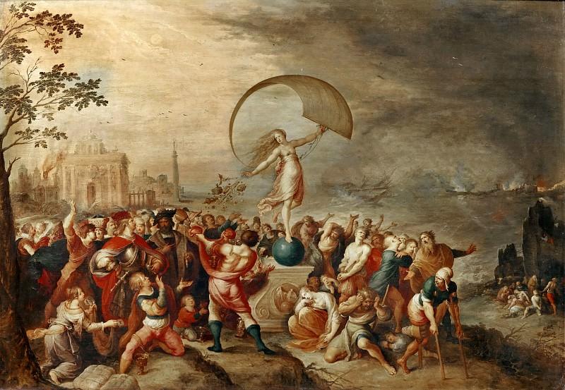 Frans Francken II -- Allegory of Fortune. Part 2 Louvre