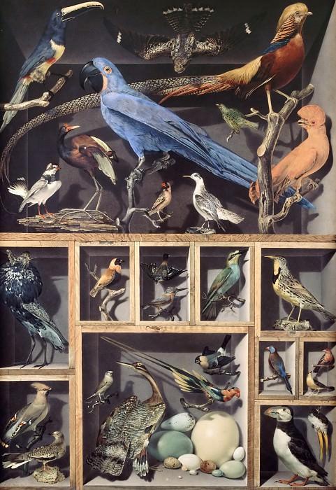 Vicomte de Barde Leroy -- Reunion of foreign birds. Part 2 Louvre