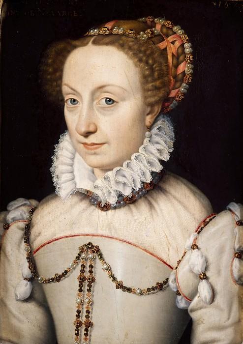 Jeanne III d'Albret (1528-1572) Queen of Navarre. Francois Clouet