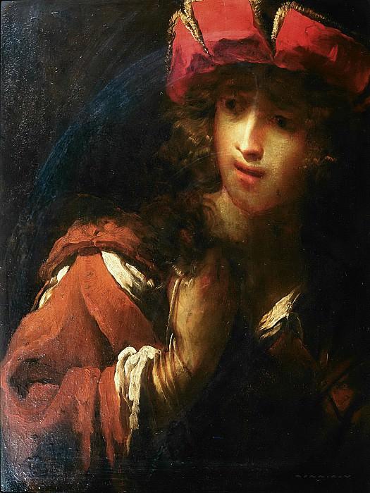 Риччи, Пьетро (прозвище иль Луччезе) (1606 Лукка - 1675 Удине) -- Портрет юноши. часть 6 Лувр