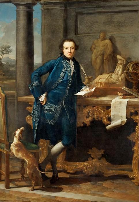 Pompeo Batoni (1708-1787) -- Lord Charles John Crowle. Part 6 Louvre