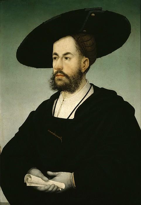 Малер, Ганс (c.1480 Ульм - c.1530 Шватц) -- Портрет Антона Фуггера. Part 6 Louvre