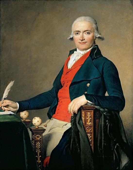 Давид, Жак-Луи (1748 Париж - 1825 Брюссель) -- Портрет Гаспара Мейера. Part 6 Louvre