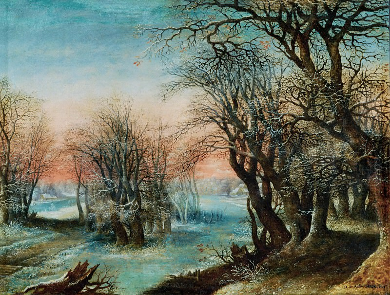 Denys van Alsloot (before 1573-1625 or 1626) -- Winter Landscape. Part 6 Louvre