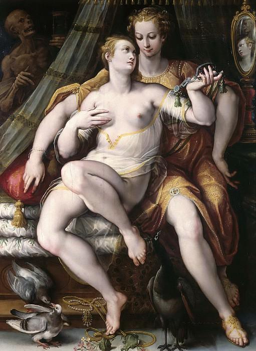 Stradano Giovanni -- Culture Scuola fiamminga/ scuola fiorentina. Part 6 Louvre