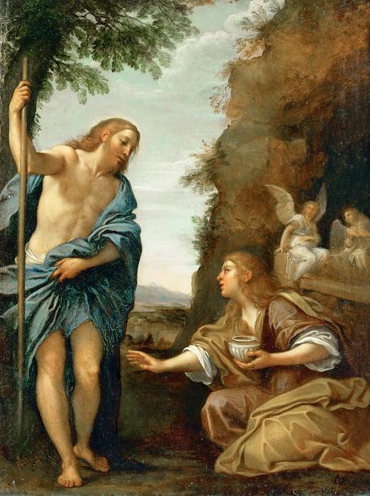 Francesco Albani (1578-1660) -- Noli Me Tangere (Christ and Mary Magdalene). Part 6 Louvre