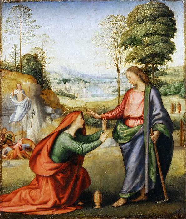 Fra Bartolommeo -- Noli me Tangere. Part 6 Louvre