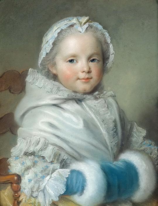 Ла Тур, Морис-Кантен де (Сен-Кантен 1704-1788) -- Николь Рикар. Part 6 Louvre