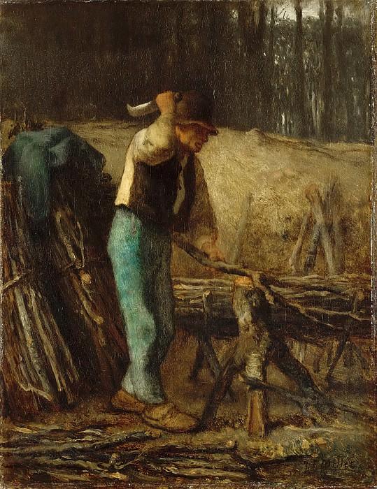 Jean-François Millet -- The Woodcutter. Part 6 Louvre