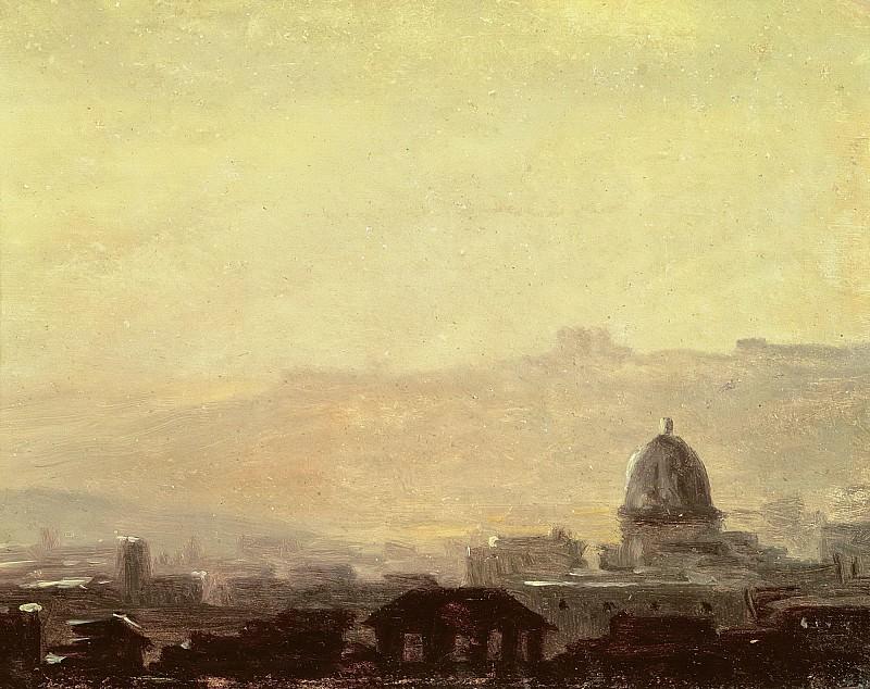 Валансьенн, Пьер-Анри де (1750 Тулуза - 1819 Париж) -- Эскиз римских домов. часть 6 Лувр
