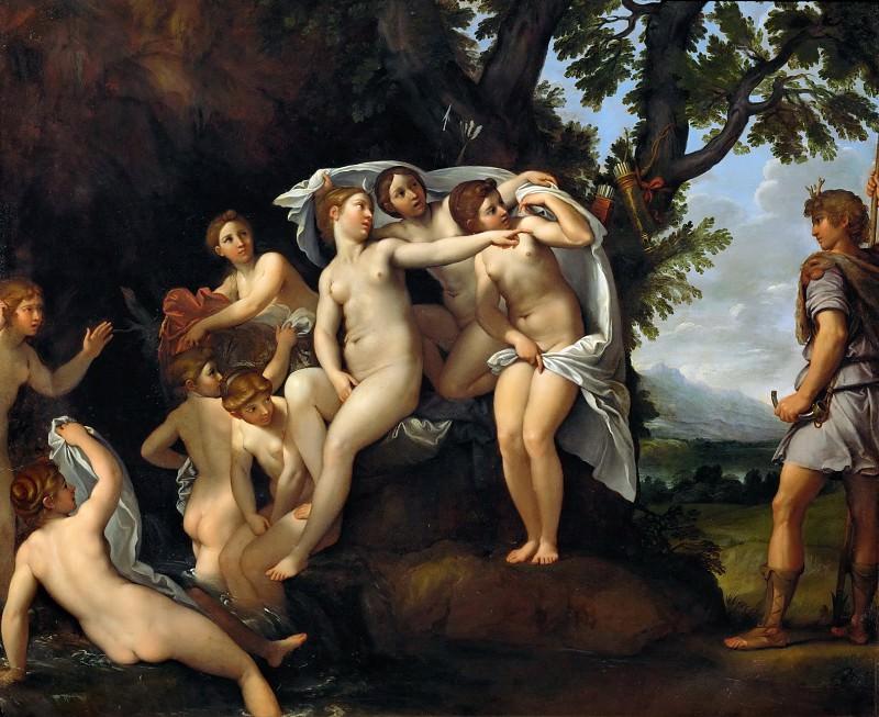 Francesco Albani (1578-1660) -- Diana and Actaeon. Part 6 Louvre