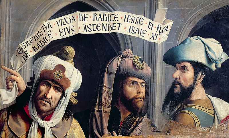 Провансальская школа (15 век) -- Три пророка. Part 6 Louvre
