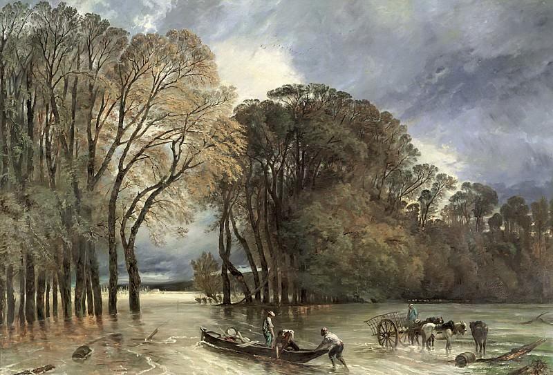 Юэ, Поль (1803-1869) -- Наводнение в Сен-Клу. часть 6 Лувр
