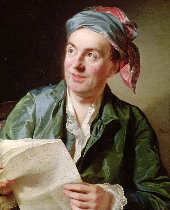 Рослин, Александр (1718 Мальме - 1793 Париж) -- Жан-Франсуа Мармонтель (1723-99). Part 6 Louvre